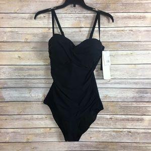 Black Shape-wear Profile by Gottex Swimsuit